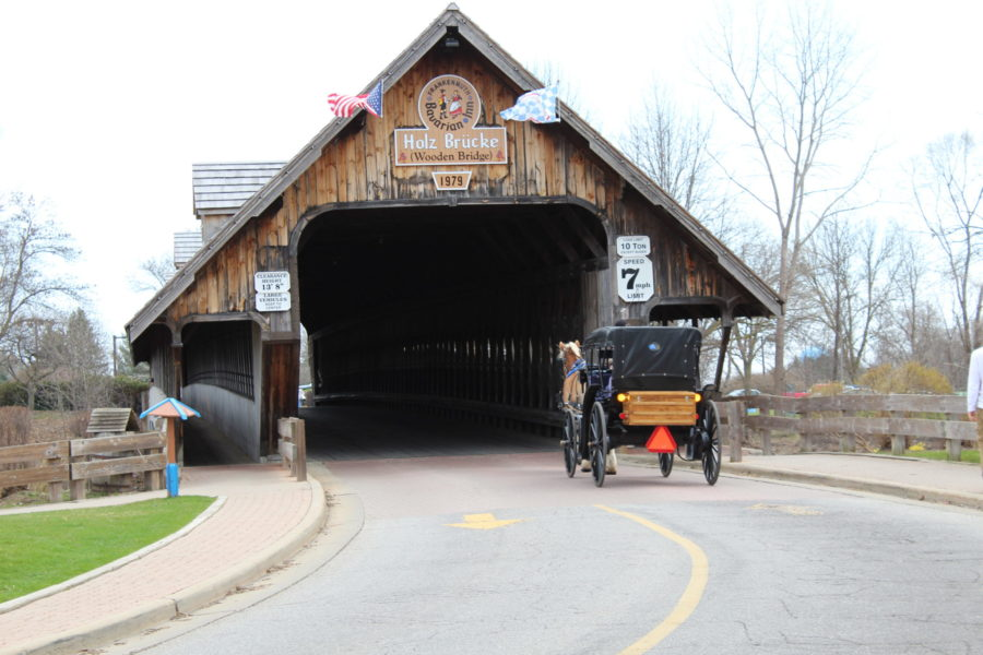 Frankenmuth Michigan covered bridge