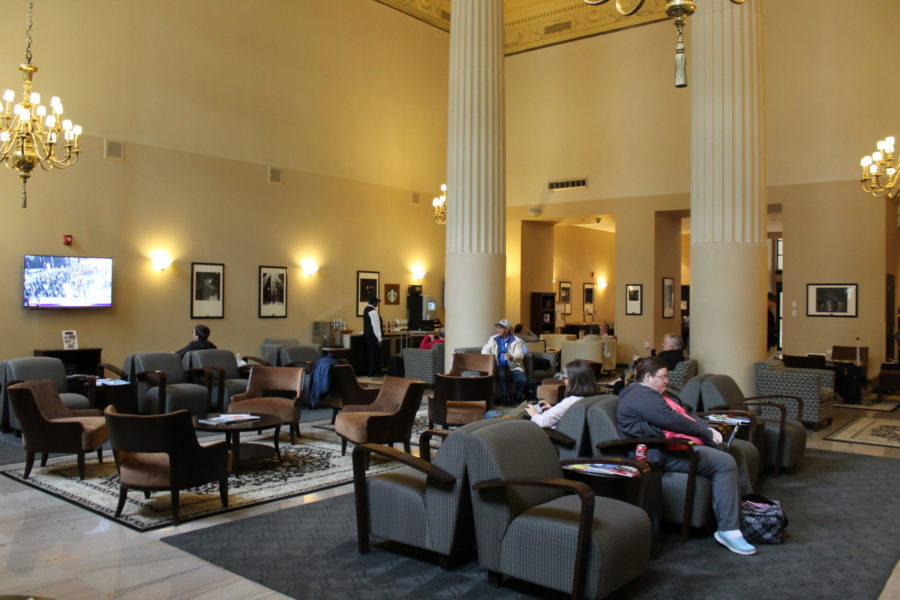 Legacy Club Lounge at Union Station in Chicago