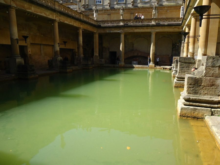 The Roman Bath's Bath, England