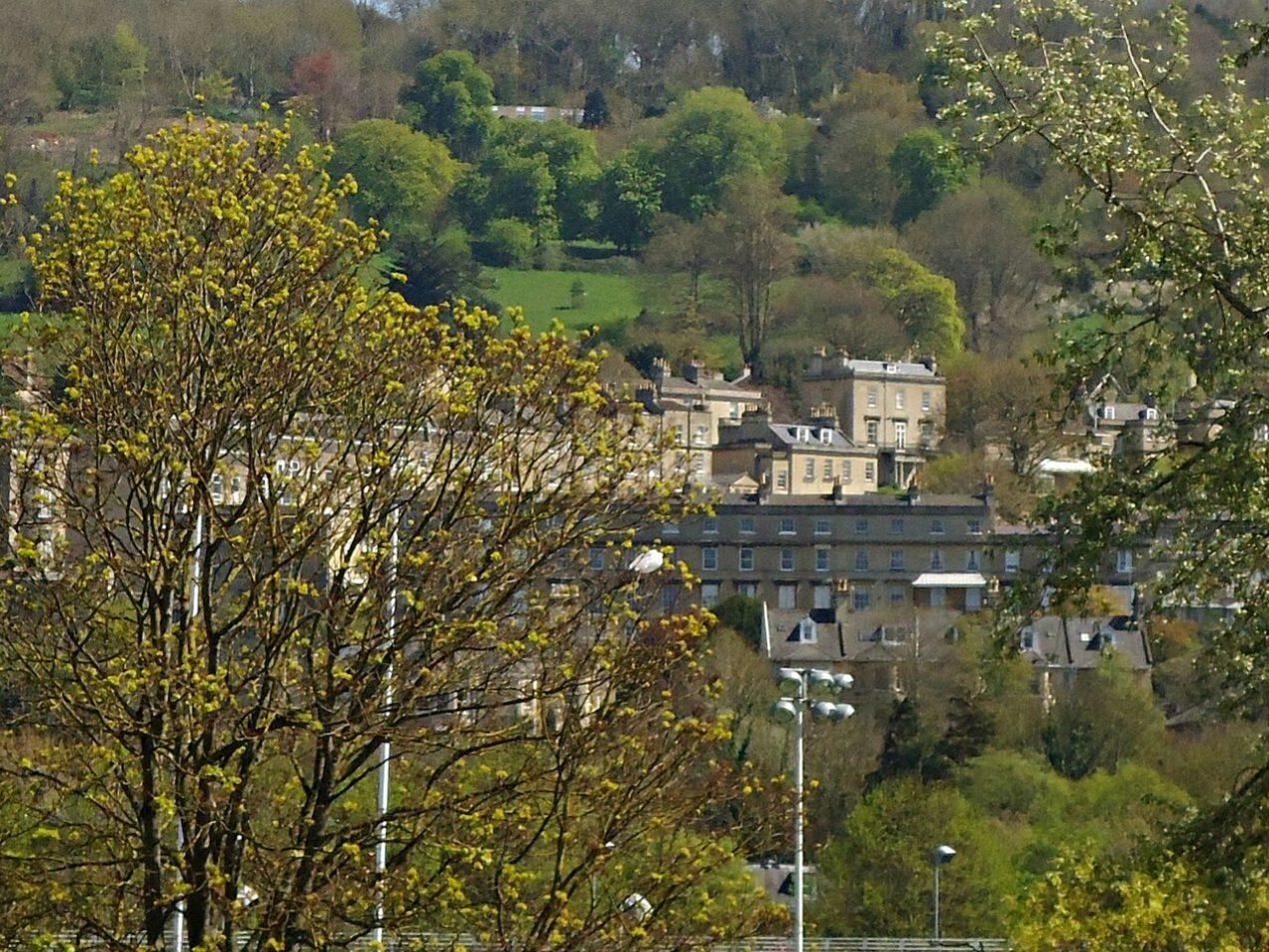 beautiful view in Bath UK