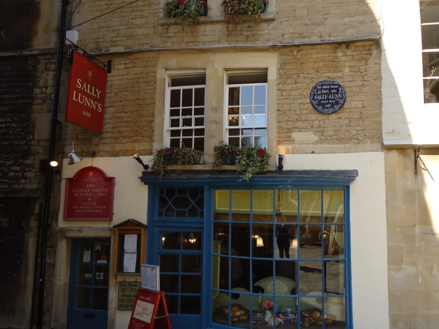 Sally Lunn's Bath, England