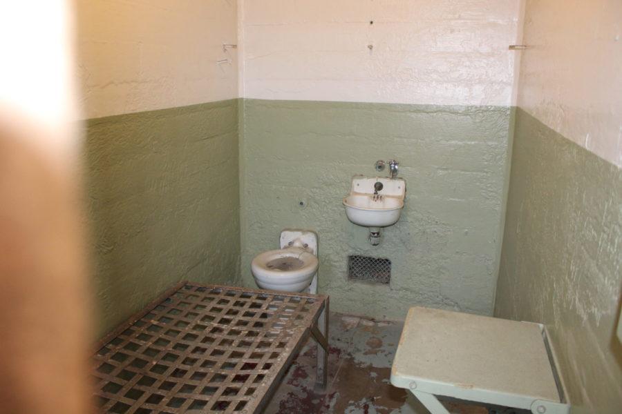 Alcatraz prison cell
