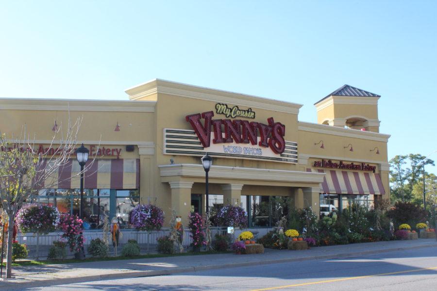 My Cousin Vinny's restaurant Niagara Falls