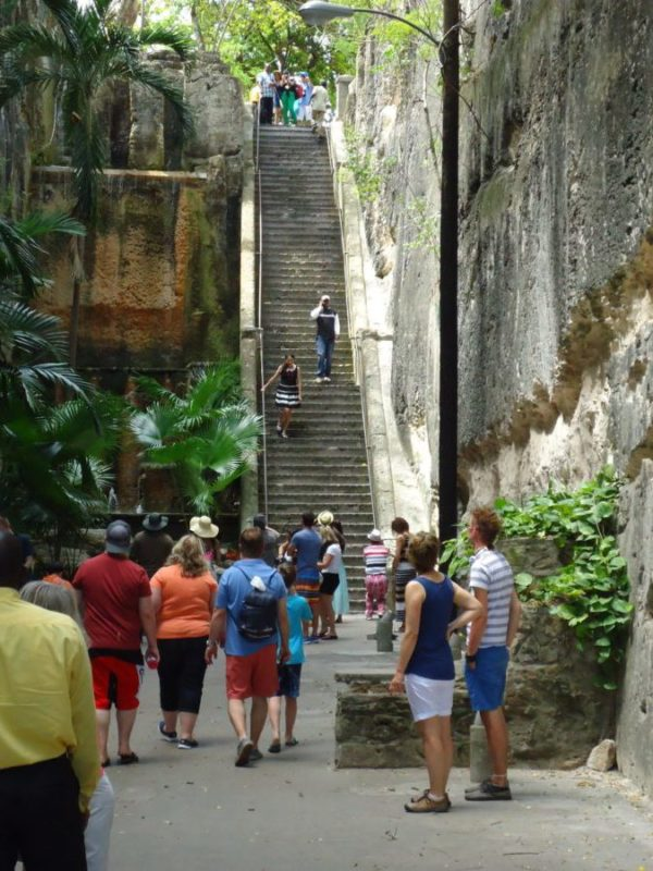 Queens Staircase Bahamas