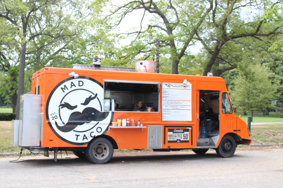 taco food truck in canatara park