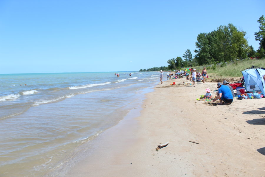 view of Ipperwash Beach