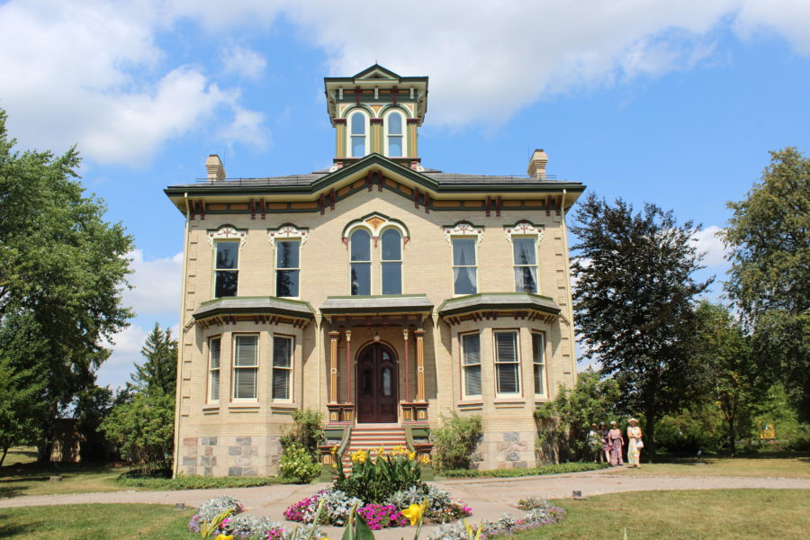 castle in Baden, Ontario