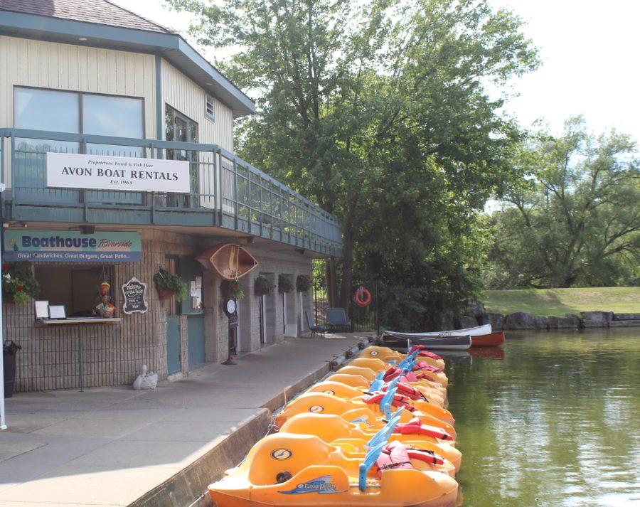 paddle boats Stratford, Ontario