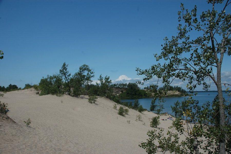 sand dunes at Sandbanks Provincial Park