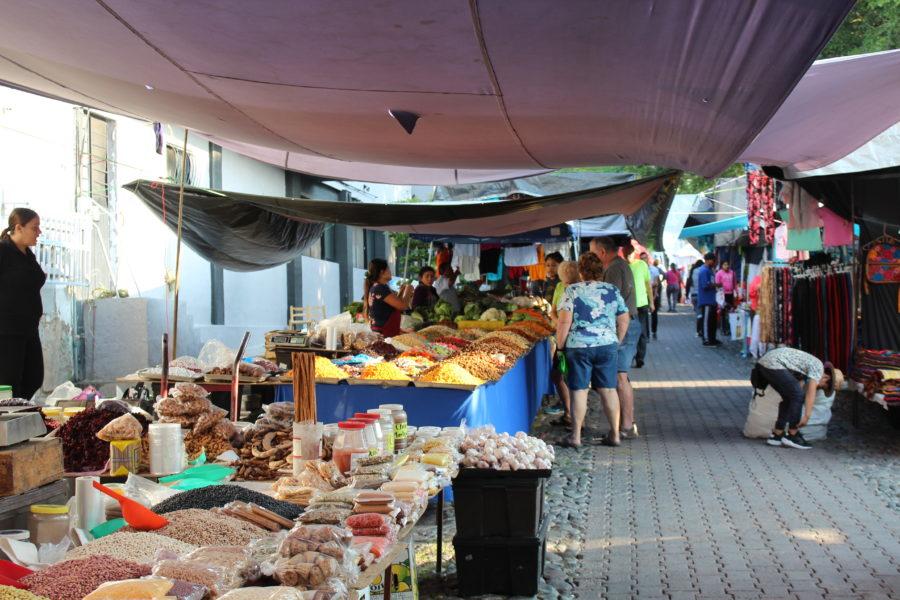 street market in Ajijic