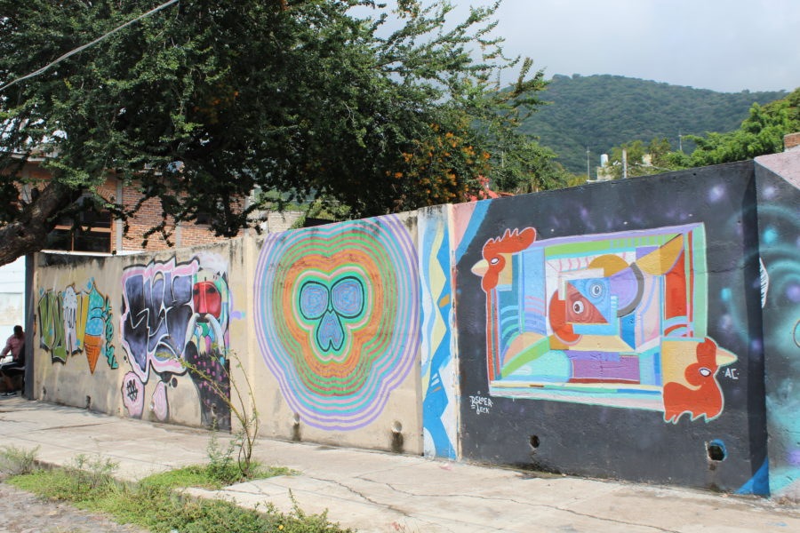 grafiti in Ajijic