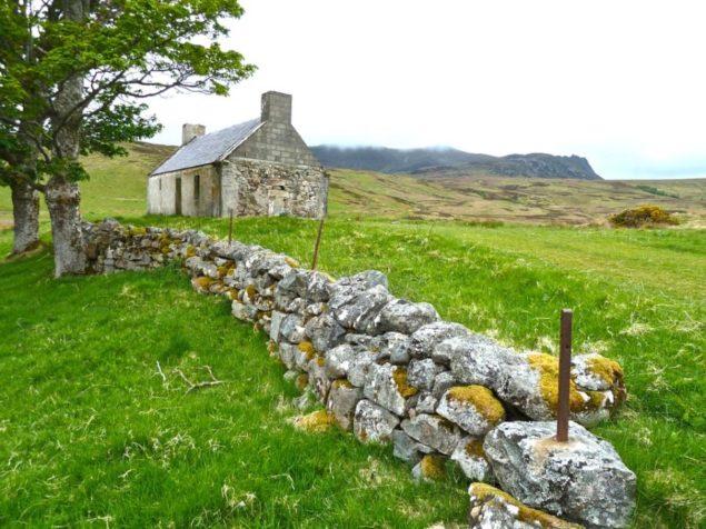 Rural farmhouse in Ireland