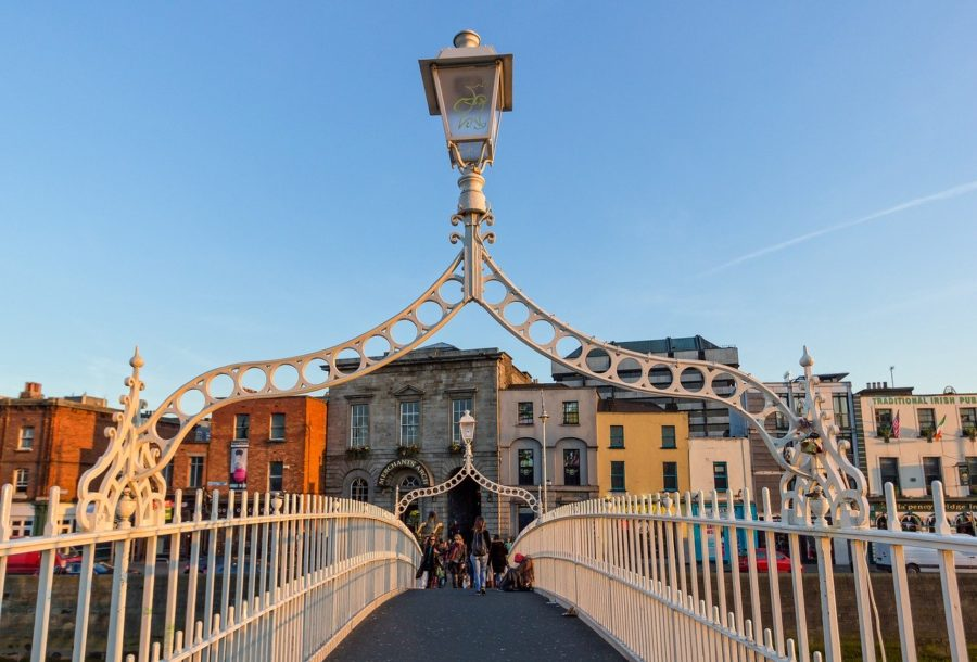 Dublin bridge Ireland