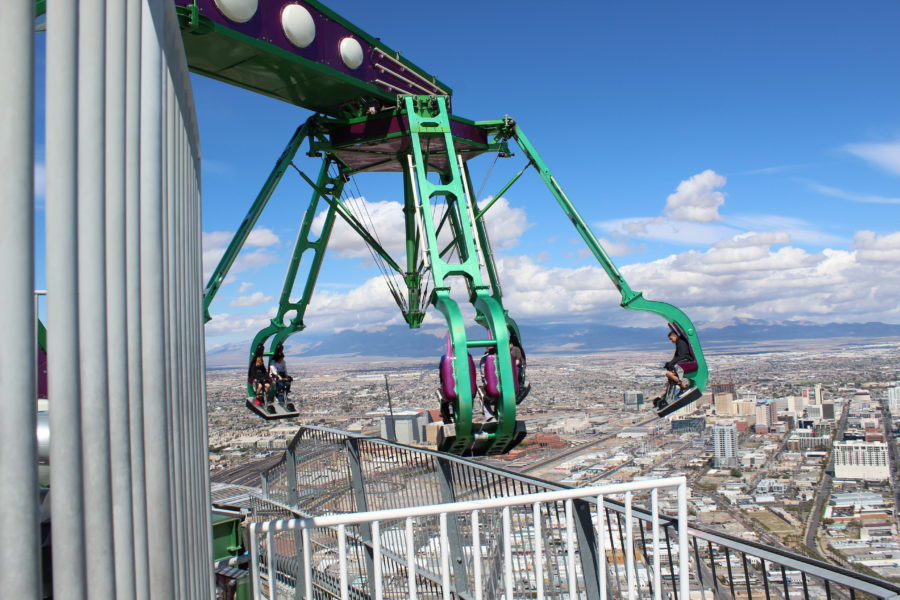 Insanity ride Las Vegas
