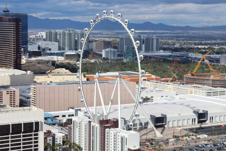 Las Vegas observation wheel