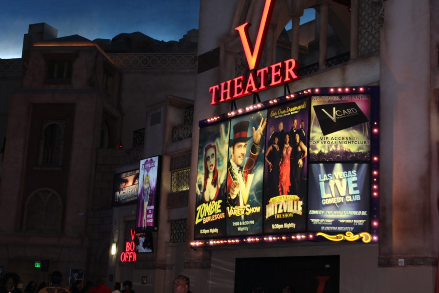 V theater Las Vegas