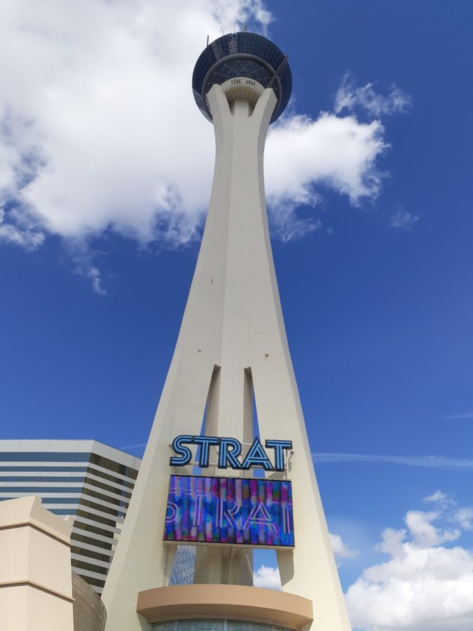 observation deck in Las Vegas