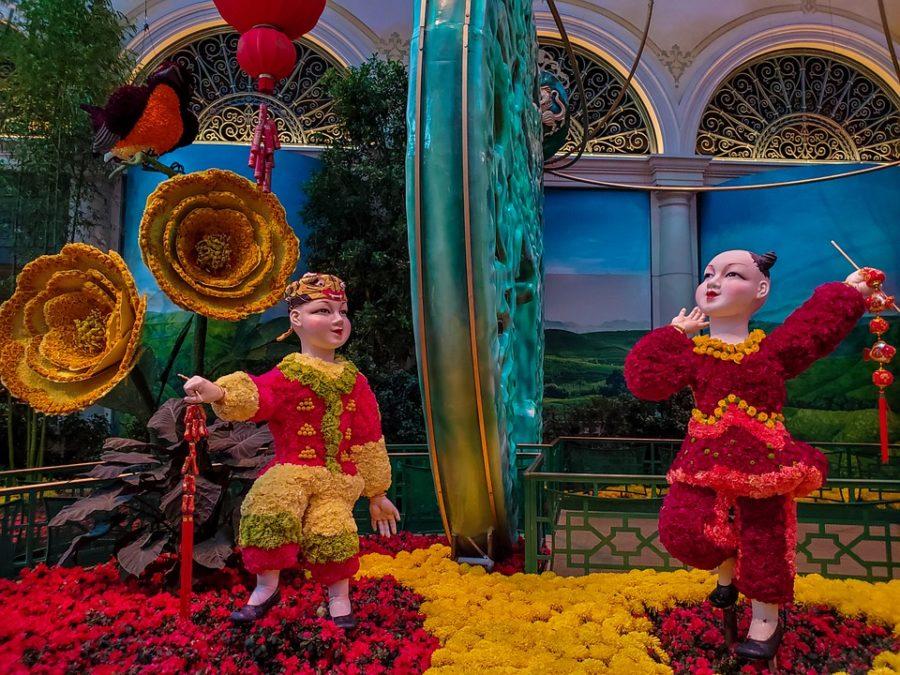 Bellagio hotel flower display
