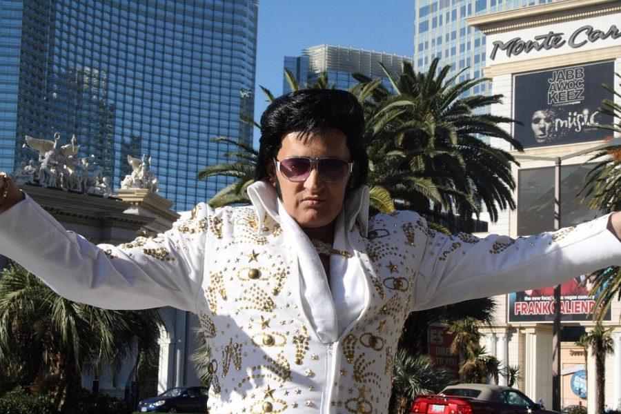 Elvis impersonator Las Vegas