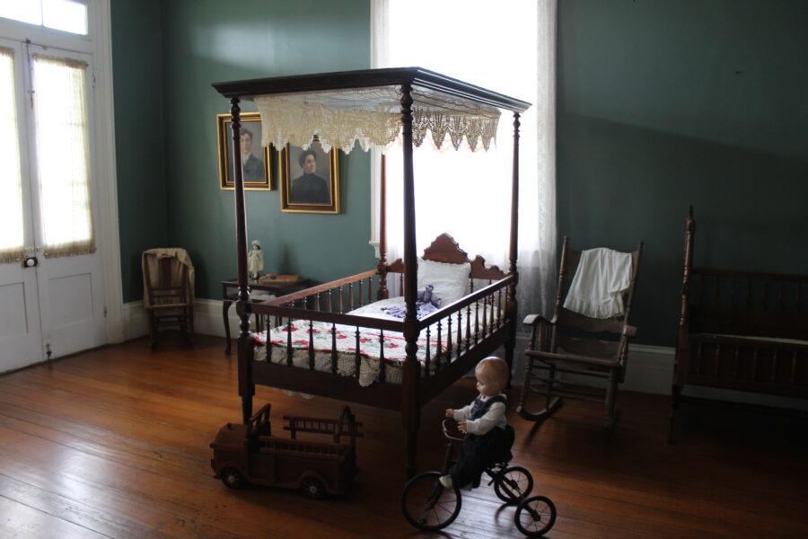 St. Joseph plantation child's bedroom