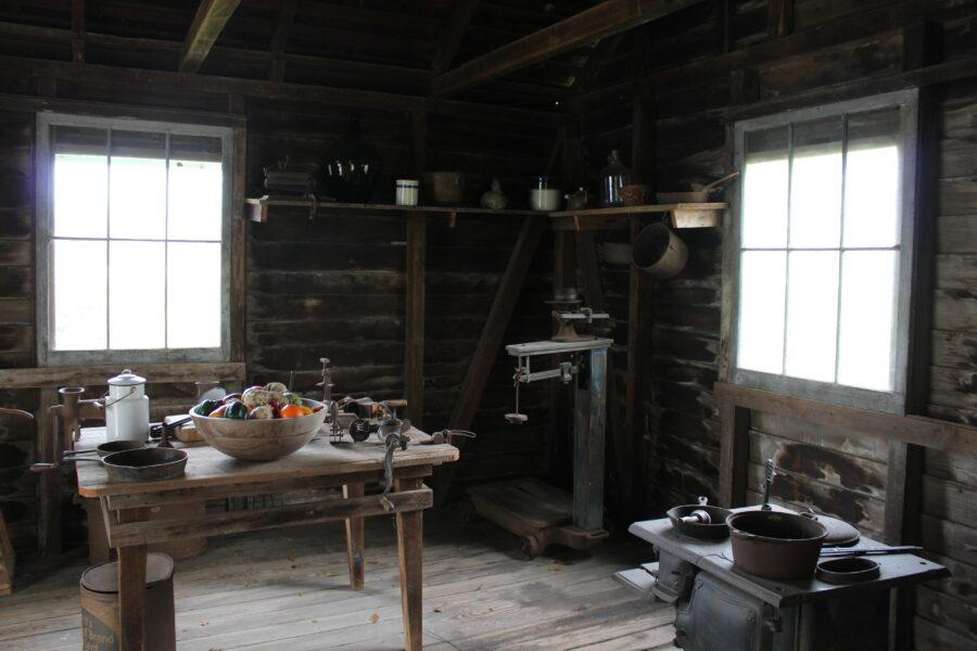 slaves kitchen at St. Joseph plantation