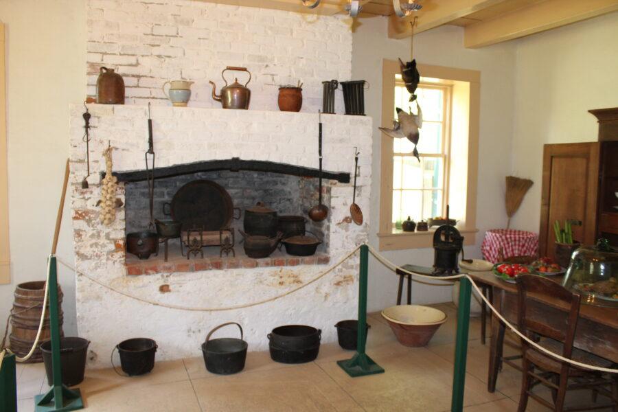 San Francisco Plantation kitchen
