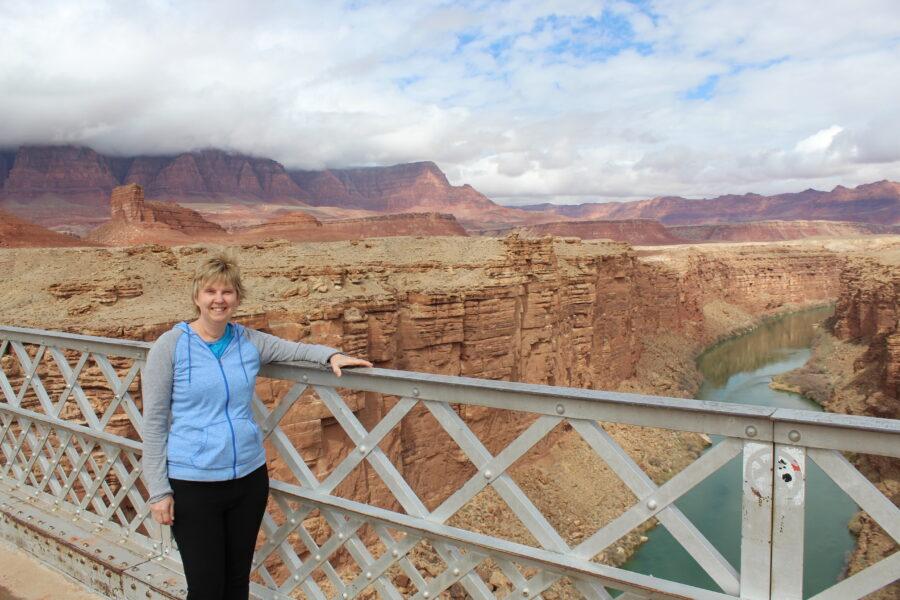 bridge in Grand Canyon