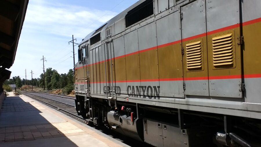Grand Canyon train ride