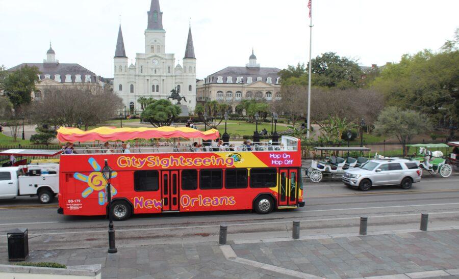 bus tour New Orleans