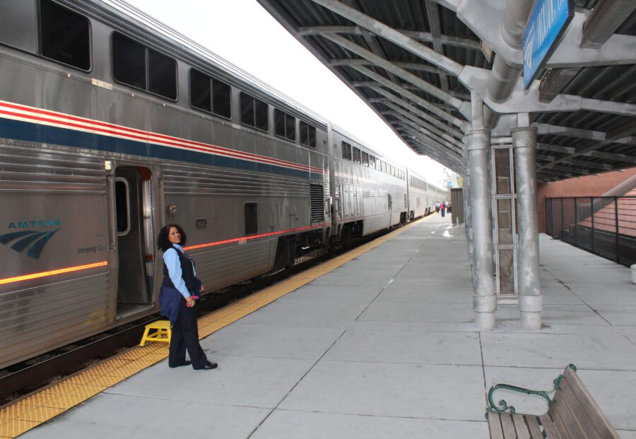 Amtrak Chicago to New Orleans train