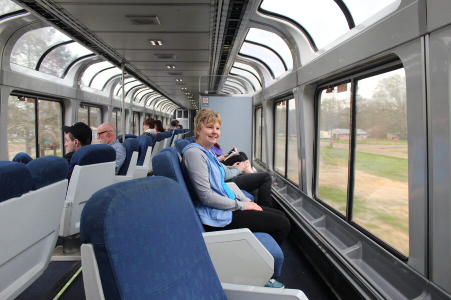 sightseer lounge on the city of new orleans