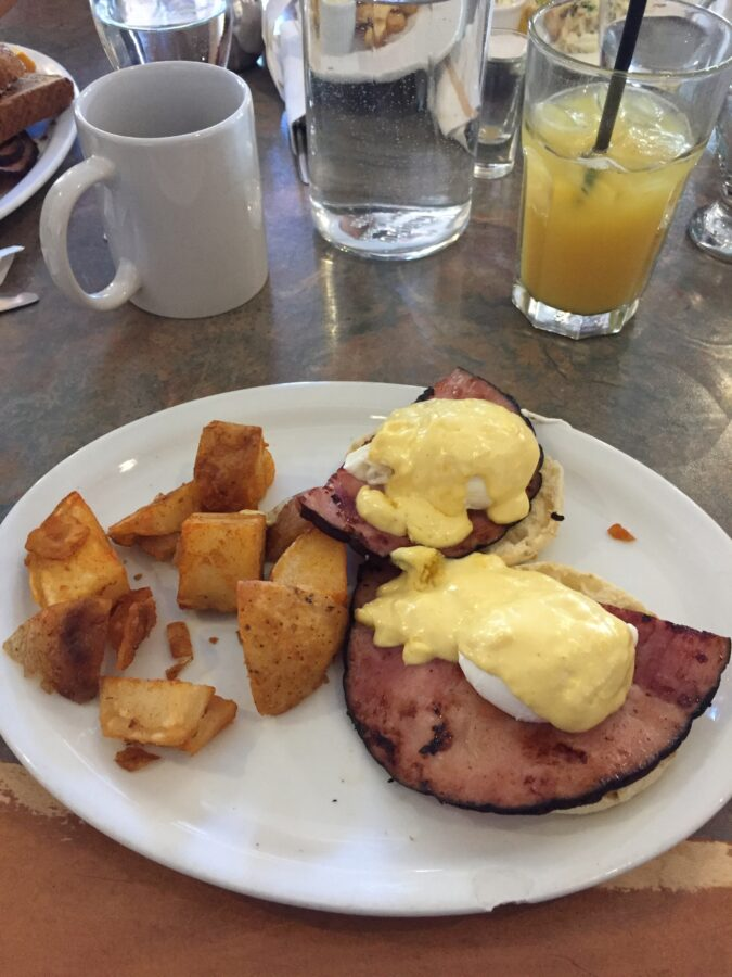 Eggs Benedict in Whistler