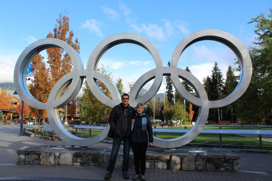 olympic rings Whistler