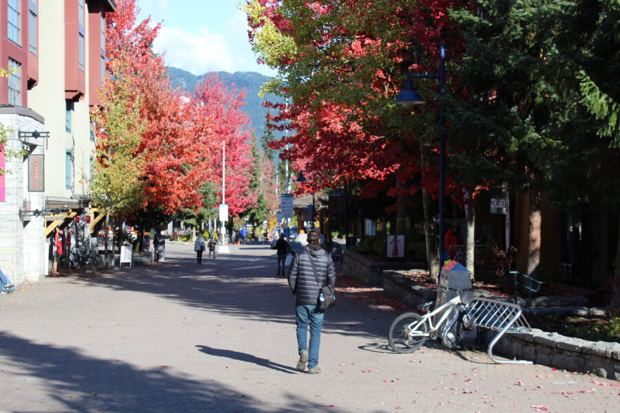 Whistler B.C. shopping