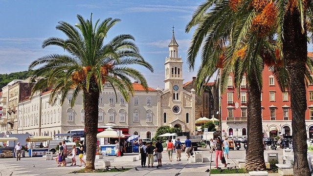 Split Croatia city centre