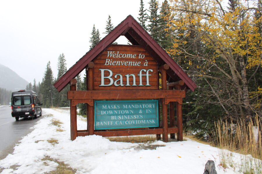 visiting Banff
