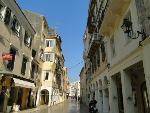 Corfu Greece for older couples